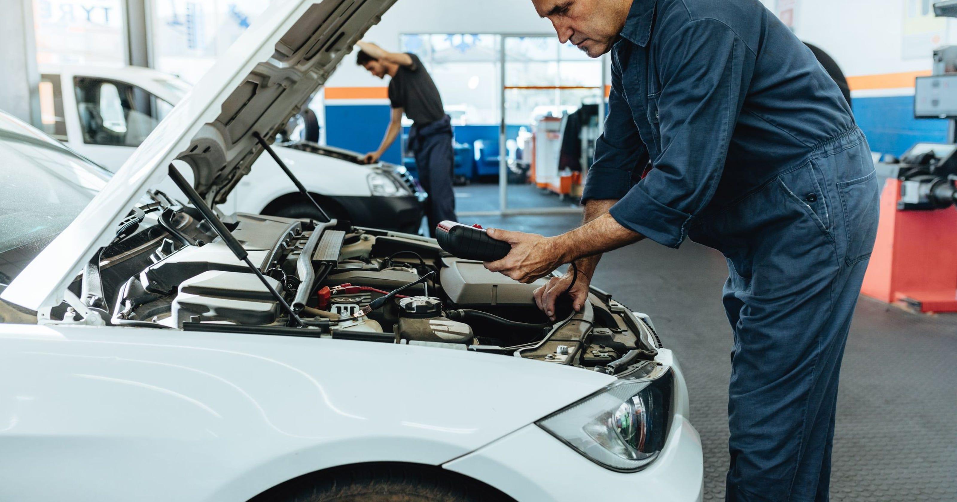 as classificações de reparação de automóveis diferem em diferentes lojas